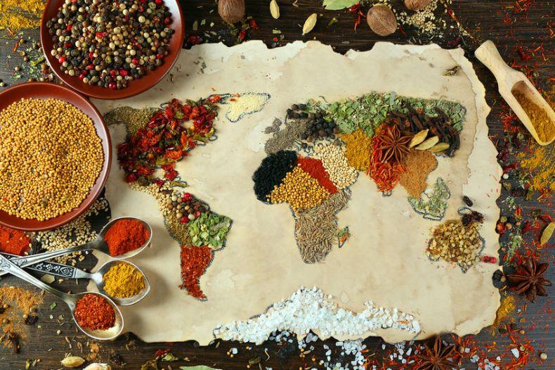 Especias del Mundo